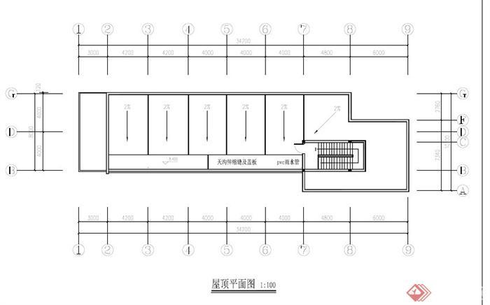某二层食堂平面图PDF格式