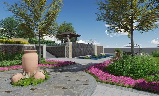 东南亚邦康绿化景观设计