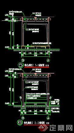 园林景观特色廊架设计施工图