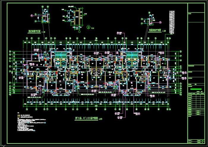 一梯三户住宅楼建筑方案设计图