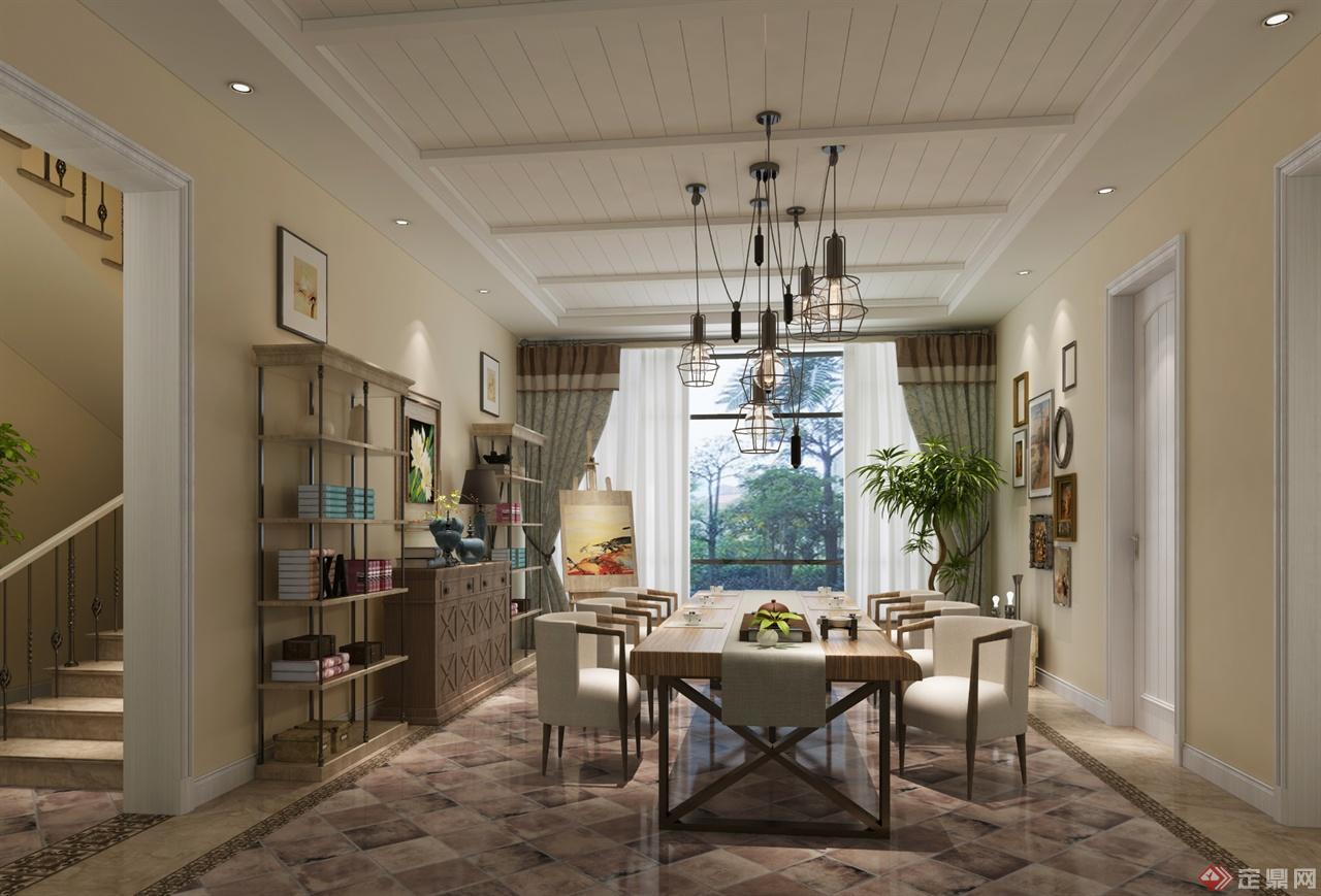 别墅室内设计-梦娜设计工作室