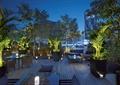 庭院,庭院景观,平台,桌椅,花池