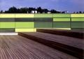围墙,木板铺装,围墙栏杆