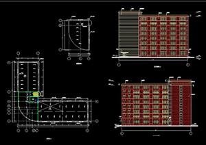 某8层框架办公楼毕业设计(含建筑结构图及计算书)