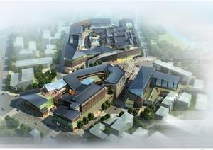 某新中式商业街方案设计文本图片