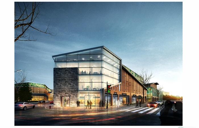 某新中式商业街方案设计文本(5)