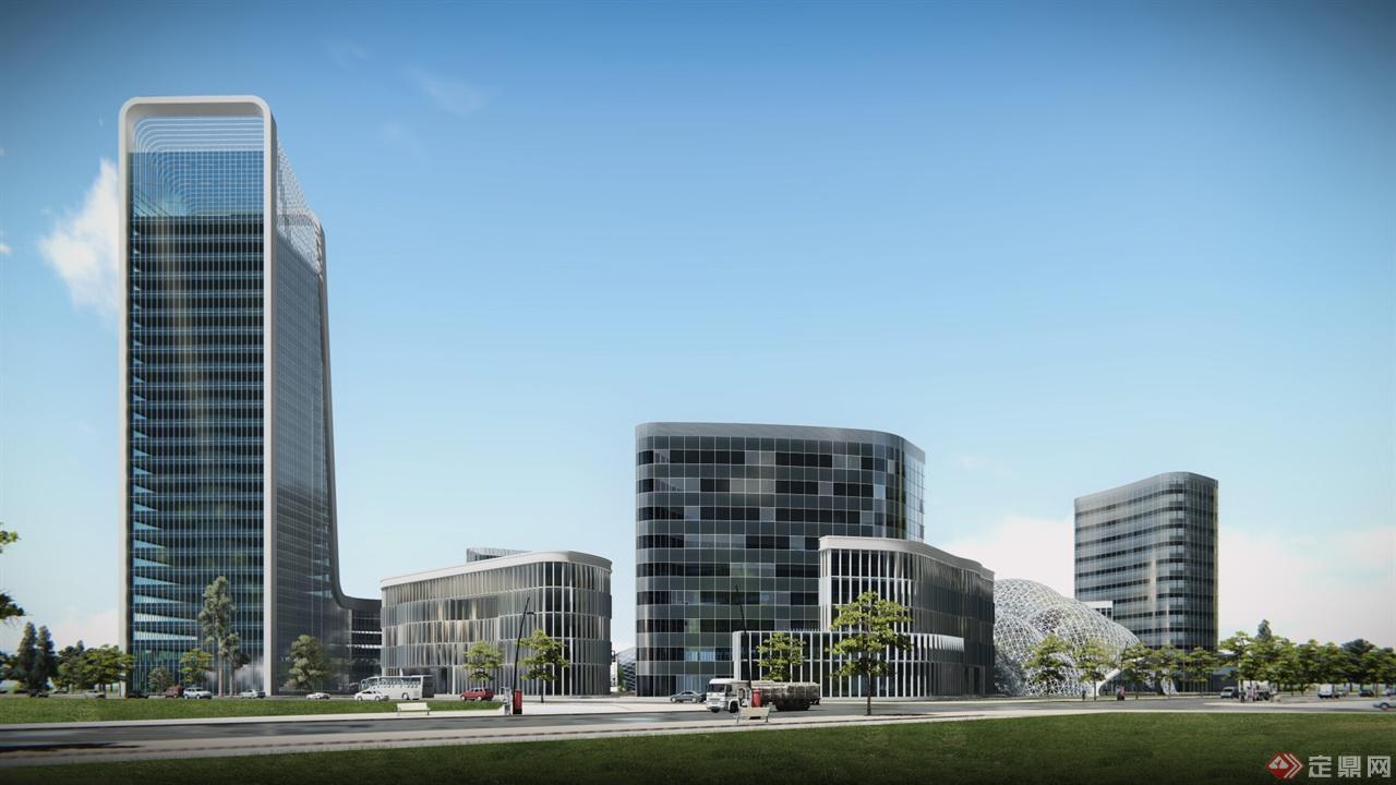 lumion效果图后期-申海工程景观,建筑工作室