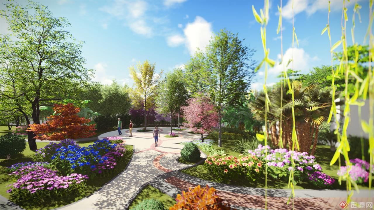 大学校园户外交往空间的植物景观设计