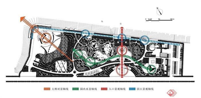 广场规划,广场设计,广场流线