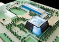体育馆,沙盘模型,体育中心