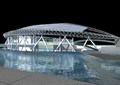 体育馆,体育场,景观水池