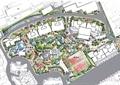 绿化规划,平面规划,小区规划
