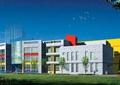 幼儿园,教学楼,学校,草坪