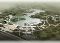 展览园,展览中心,展览馆景观