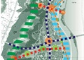 滨水景观,河流景观,道路分析
