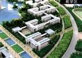 沙盘模型,校园景观,教学楼,学校环境