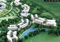 学校景观,学校环境,教学楼,建筑模型