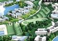 校园规划,校园景观,教学楼,运动场,建筑模型