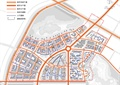 商業區規劃,商業區設計,交通流線,商住小區