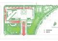 公园景观规划,空间分析图,道路