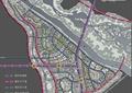 城市规划,住宅景观,河流景观,道路