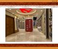 走廊,装饰柱,天花吊顶,地面铺装,门,形象墙,荣誉室