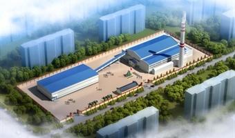 锅炉房厂区建筑