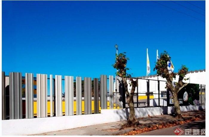 乌拉圭杜拉斯诺体育中心围墙(3)