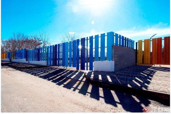 乌拉圭杜拉斯诺体育中心围墙(6)