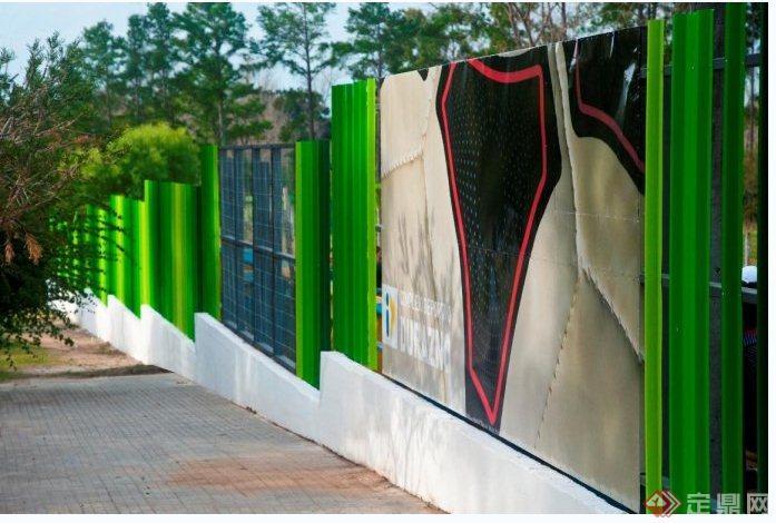乌拉圭杜拉斯诺体育中心围墙(4)