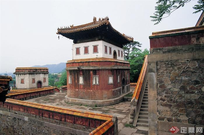 承德避暑山庄园景观设计图-寺庙建筑古建筑文化建筑