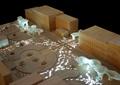 廊架,景观架,沙盘模型,广场设计