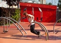 健身广场,广场景观,健身设施