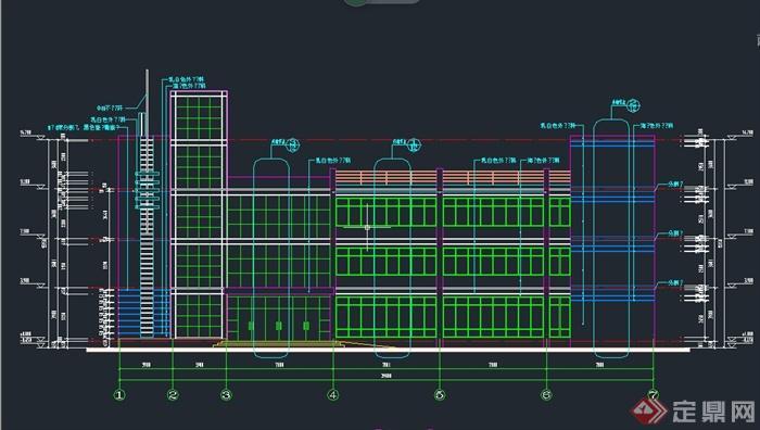 办公楼建筑设计CAD施工图