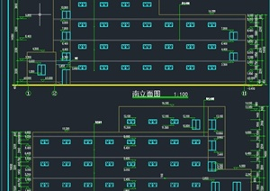 某洗浴中心建筑设计CAD施工图