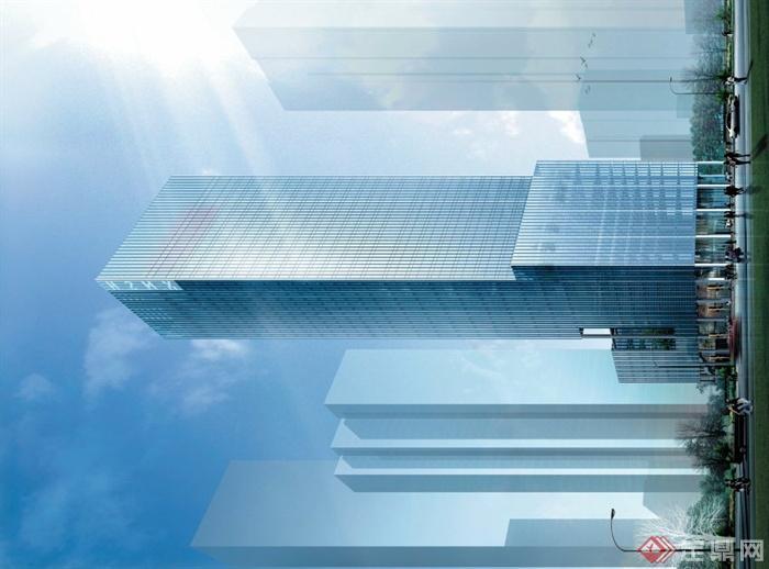 中建经典祥南石化超高层办公楼建筑设计PDFacm题目程序设计国际图片