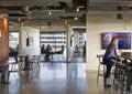 桌椅组合,吊灯,办公空间