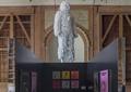 雕塑,隔断幕墙,背景墙,精品店
