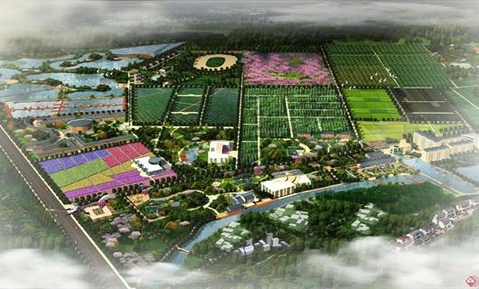 千叶湖生态园规划设计