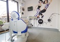 牙椅,彩绘墙,牙科诊所,医疗器械