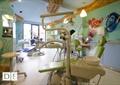 牙椅,醫療設施,彩繪墻,吊燈,牙科診所