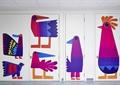 彩绘墙,墙面彩绘