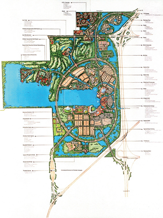 城市公园景观规划设计手绘图-公园景观规划水体景观
