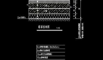 路面结构设计图
