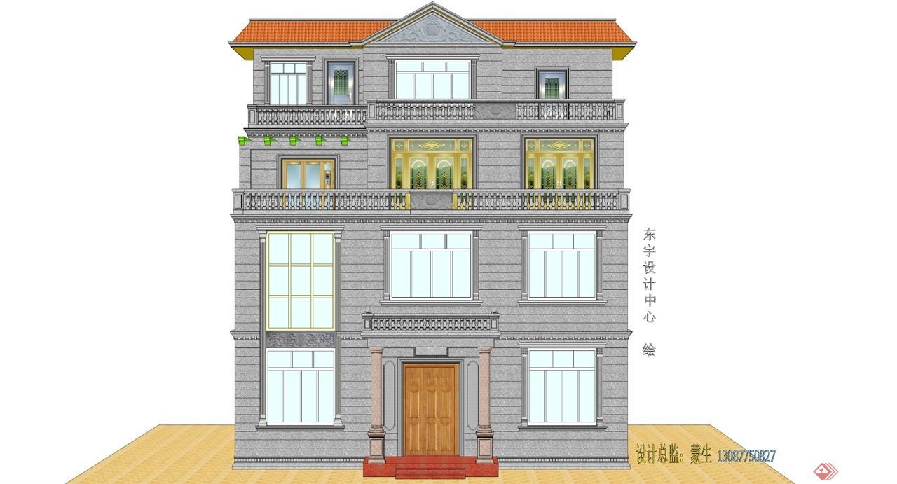 藏式建筑外墙