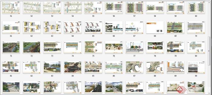 某景观大道道路景观设计方案文本(8)