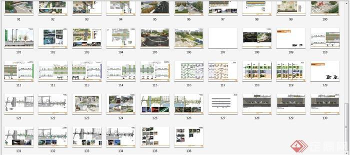 某景观大道道路景观设计方案文本(9)