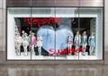 橱窗展示,模特,服装,商业标志,装饰摆件,服装店
