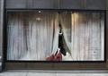 橱窗展示,模特,装饰品,服装店