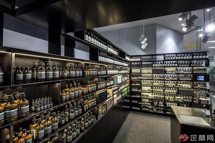 澳大利亚珀斯Aesop伊索专卖店设计-实体店化曲靖室内设计师图片